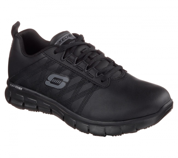 ZAPATILLA SKECHERS  WORK RELAXED FIT: SURE TRACK - ERATH SR 76576EC
